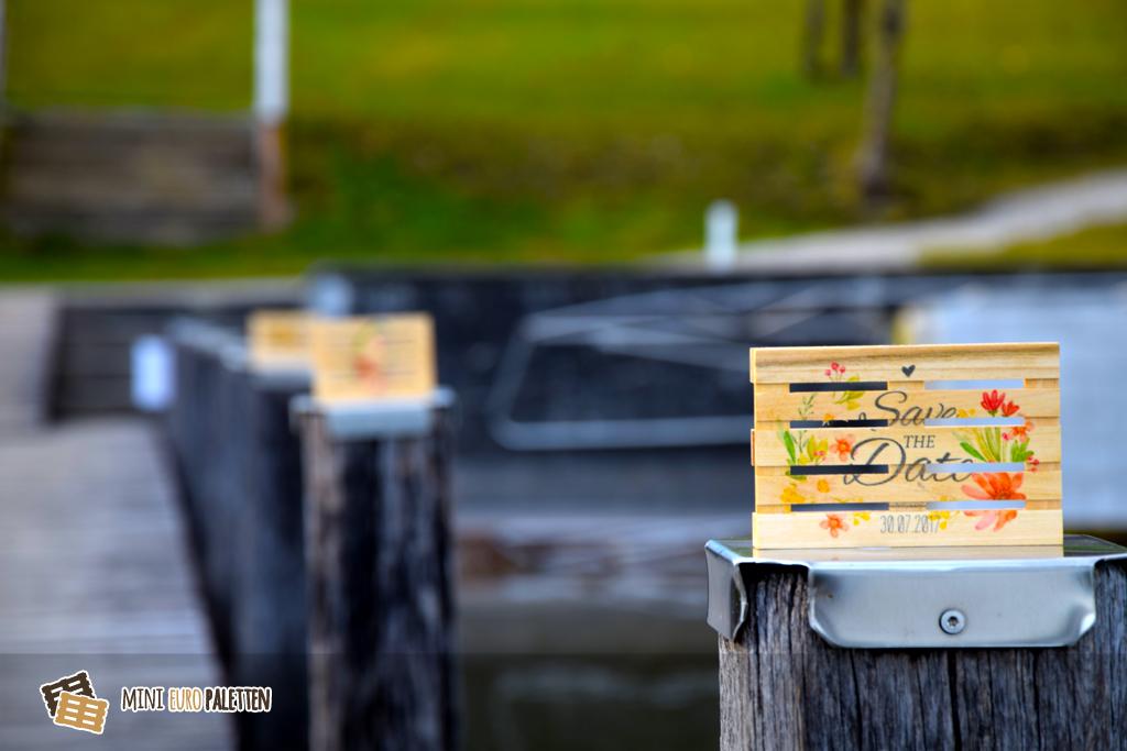 MiniPaletten mit druck Innovative Werbemittel